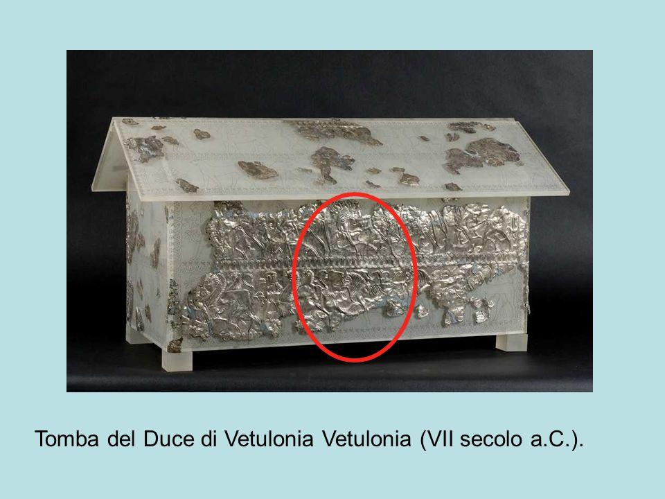 Tomba del Duce di Vetulonia Vetulonia (VII secolo a.C.).