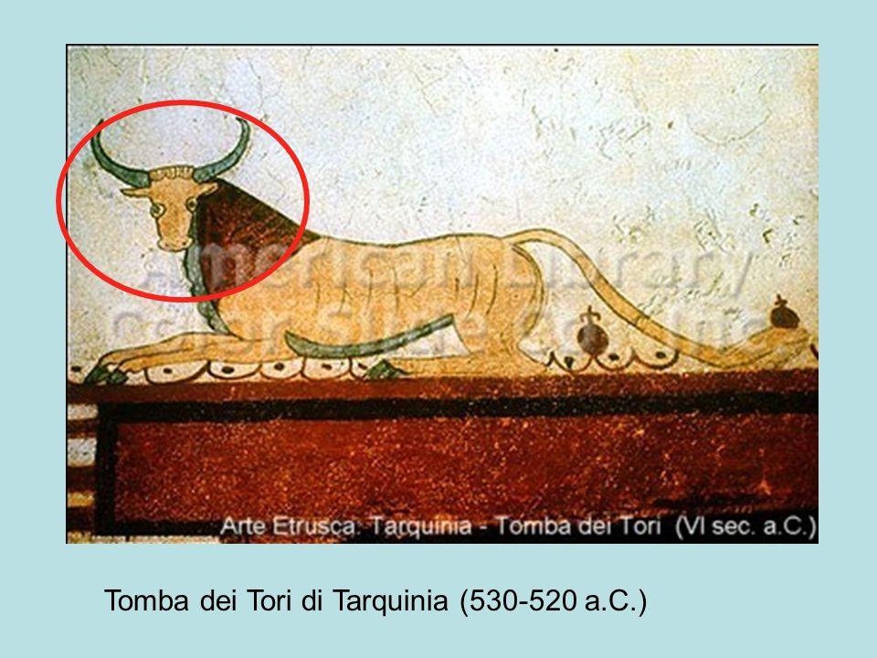 Tomba dei Tori di Tarquinia (530-520 a.C.)