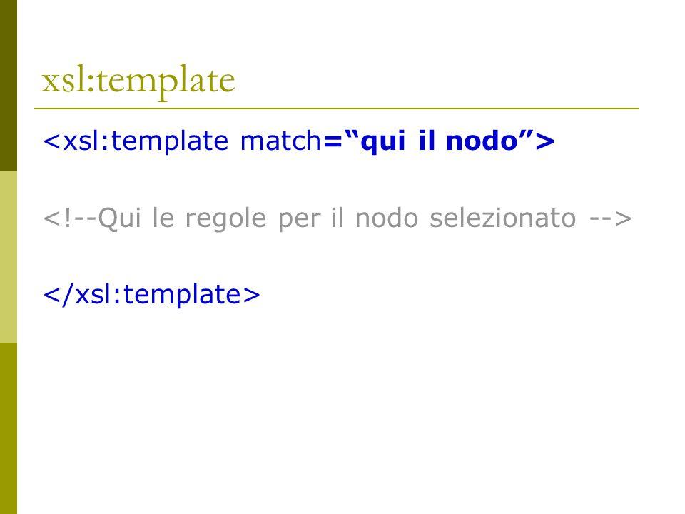 select  Attributo select  Selezionare un attributo @nomeAttributo select= @rima