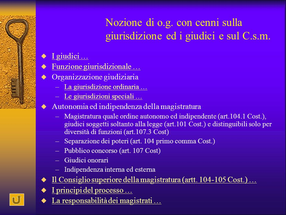 Accesso in magistratura  Laurea in giurisprudenza e (art.