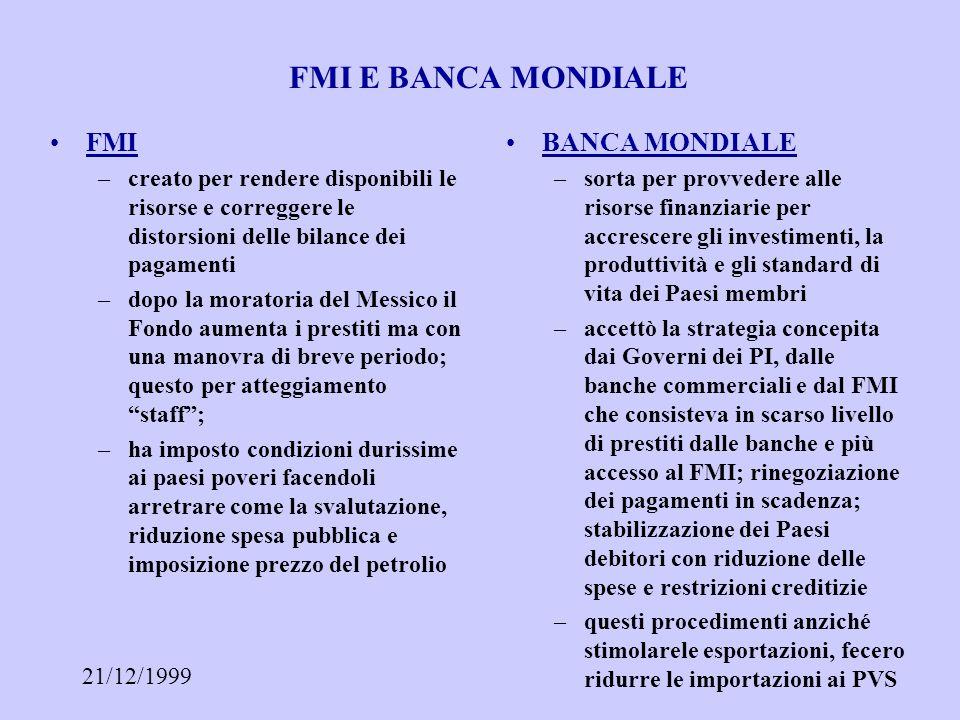 21/12/1999 FUGA DI CAPITALI E COMPORTAMENTO BANCHE FUGA DI CAPITALI –porzione dei prestiti non investita in attività produttive ma verso attività fin.