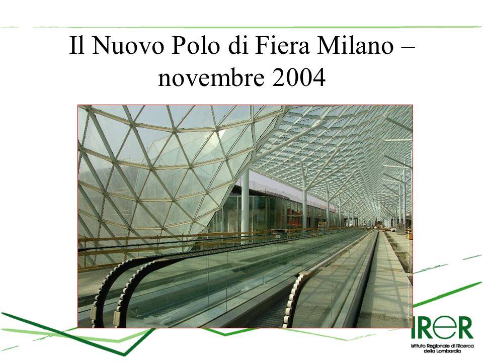 Il Nuovo Polo di Fiera Milano – novembre 2004