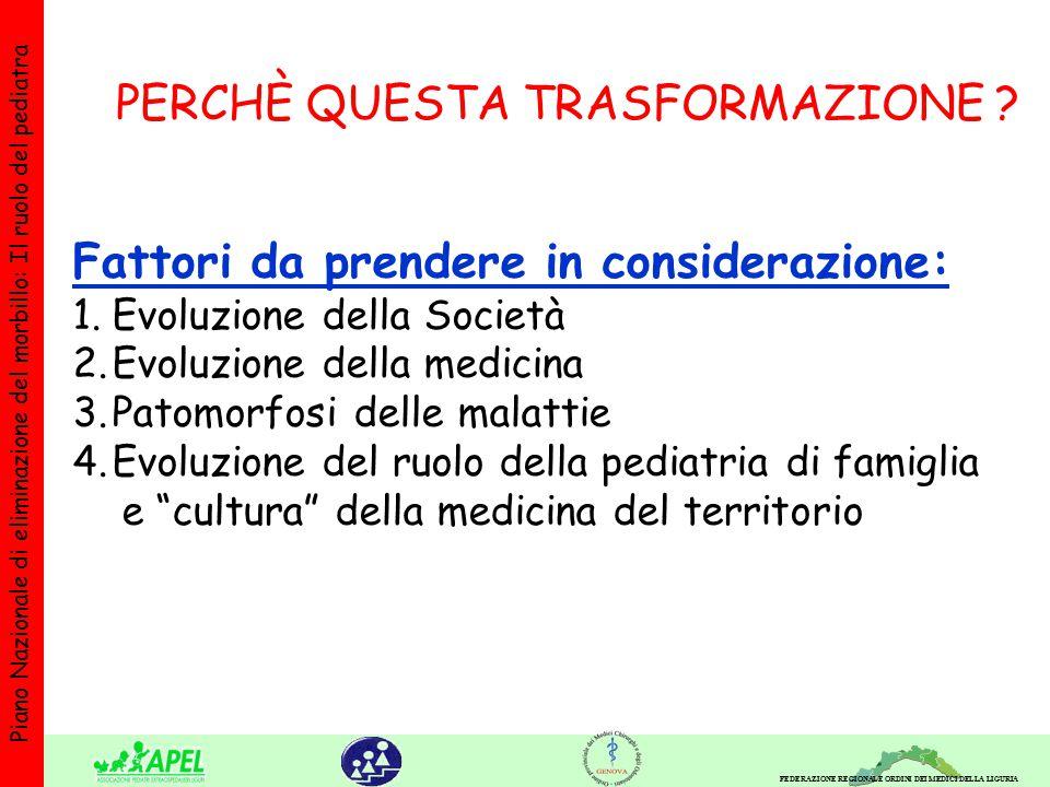 FEDERAZIONE REGIONALE ORDINI DEI MEDICI DELLA LIGURIA Piano Nazionale di eliminazione del morbillo: Il ruolo del pediatra Studio ISS - dr.Tozzi- Venezia-Sem.