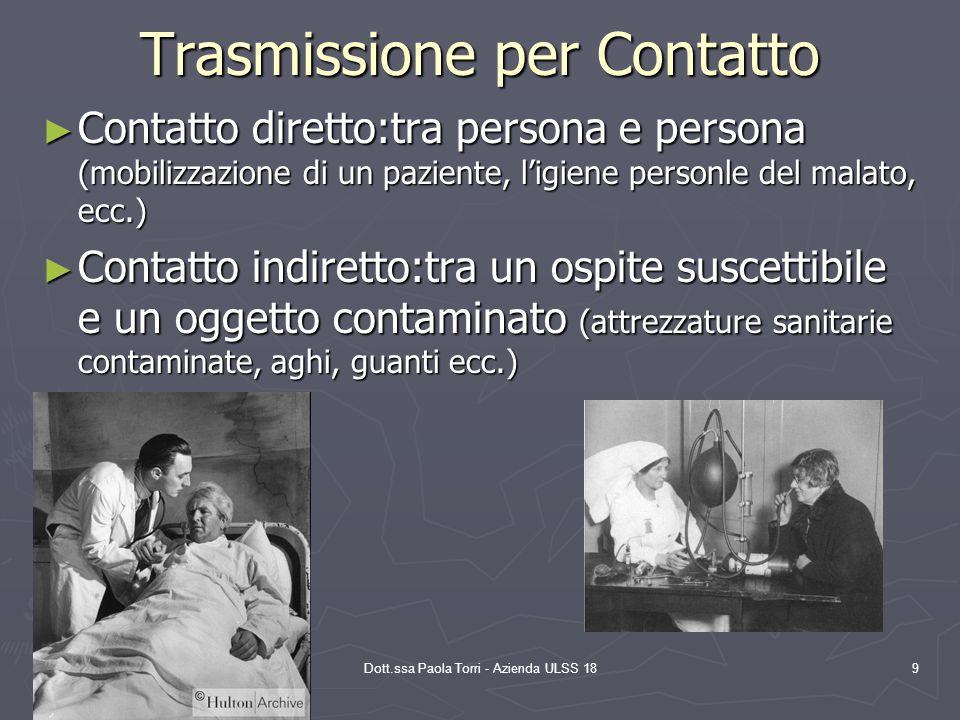 14/12/2005 Dott.ssa Paola Torri - Azienda ULSS 18 20