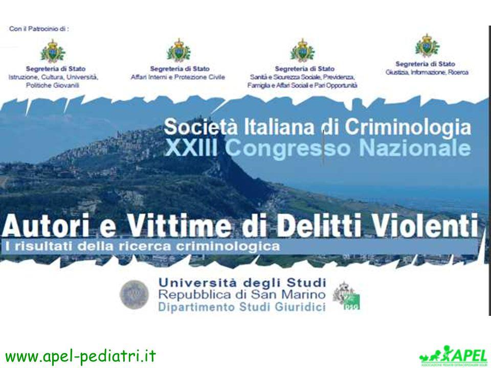 www.apel-pediatri.it Congresso Criminologia