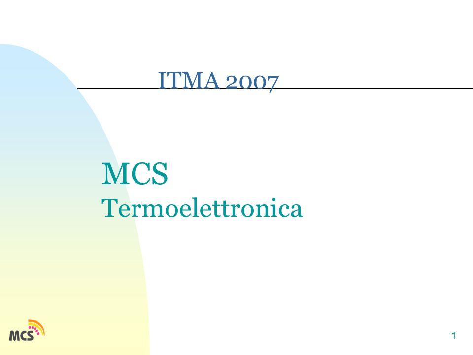 1 ITMA 2007 MCS Termoelettronica
