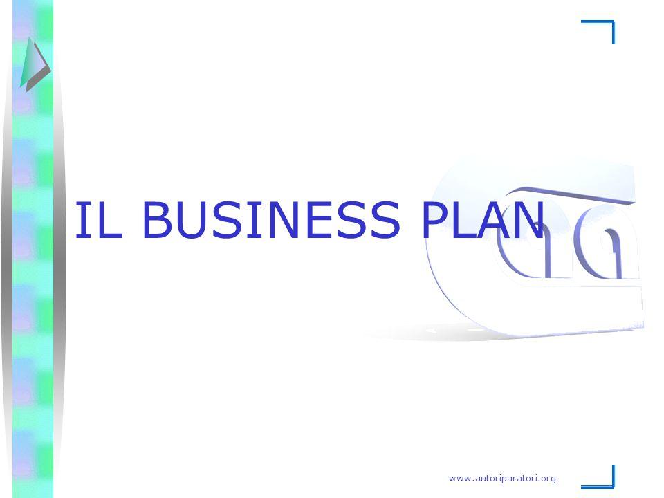 www.autoriparatori.org IL BUSINESS PLAN