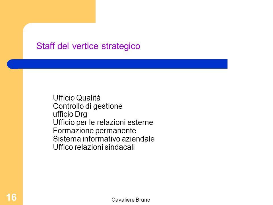 Cavaliere Bruno 15 Direttore Amministrativo Nominato dal Direttore Generale dell'Asl, in collaborazione del Direttore Sanitario, il consiglio dei Sanitari, ed il coordinatore dei servizi sociali (là dove esiste), coadiuva il Direttore Generale.