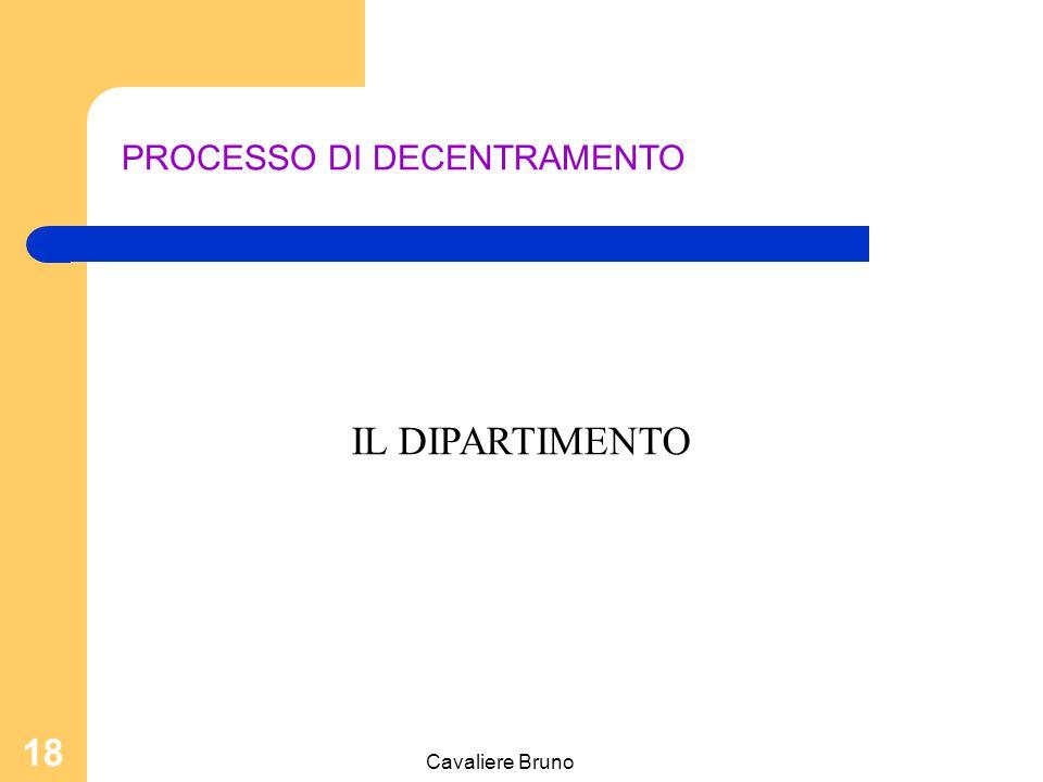 Cavaliere Bruno 17 Relazioni dell'Azienda con l'esterno L'informazione e la comunicazione istituzionale; La carta dei servizi; Gli uffici di pubblica