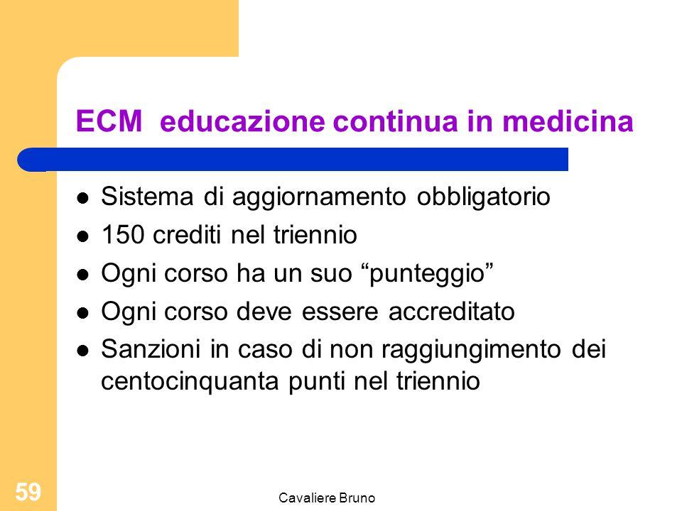 Cavaliere Bruno 58 L'OSS specializzato (bozza del Ministero della salute) Il trasporto del materiale biologico ai fini diagnostici La somministrazione
