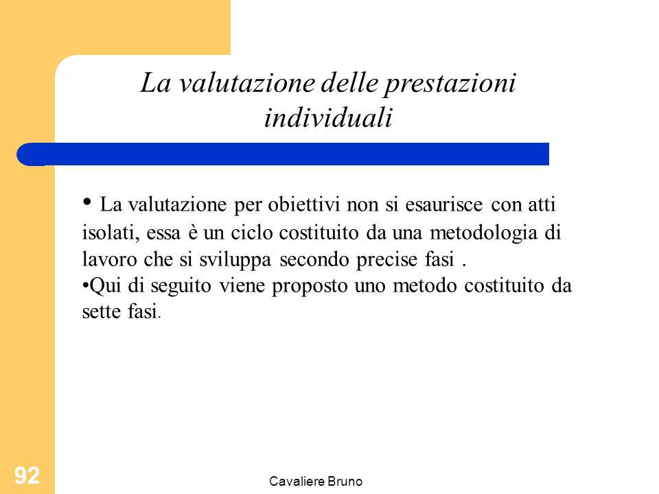 Cavaliere Bruno 91 La valutazione degli output non è facilmente quantificata e misurata sono riscontrabili dei problemi di coordinamento (la standardi