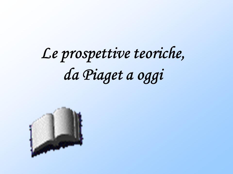 Le prospettive teoriche, da Piaget a oggi