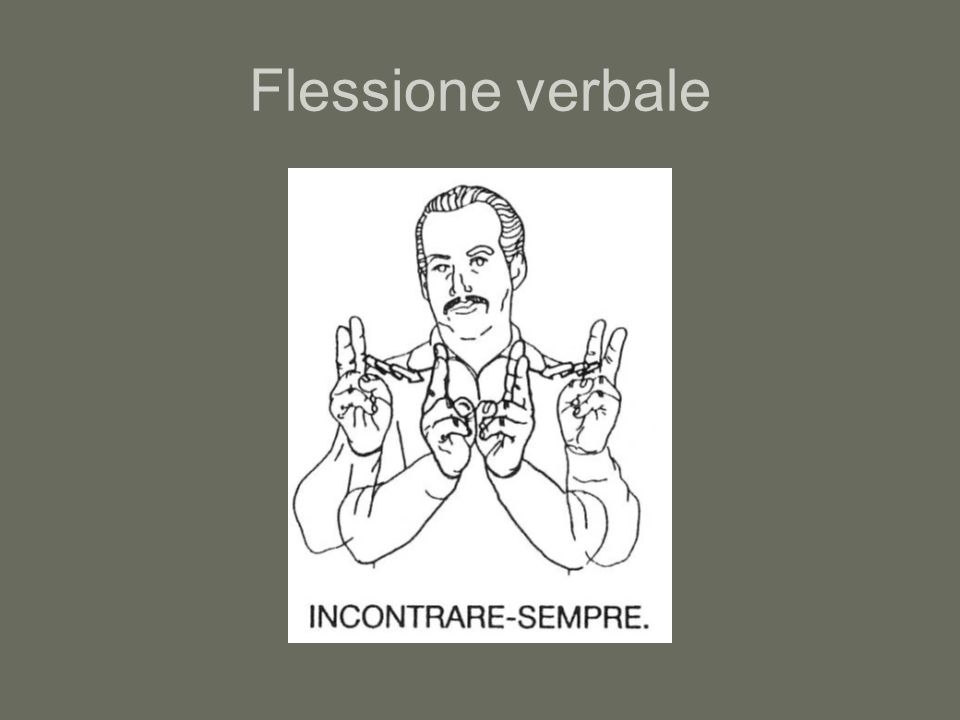 Flessione verbale