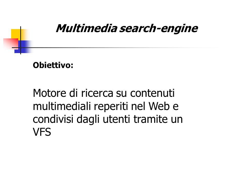 Multimedia search-engine Html,pdf,ecc.. Immagini Video Audio News Ricerca file:
