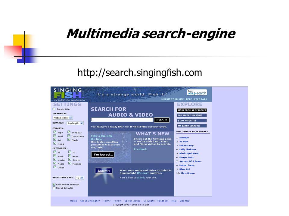 http://www.alltheweb.com Multimedia search-engine