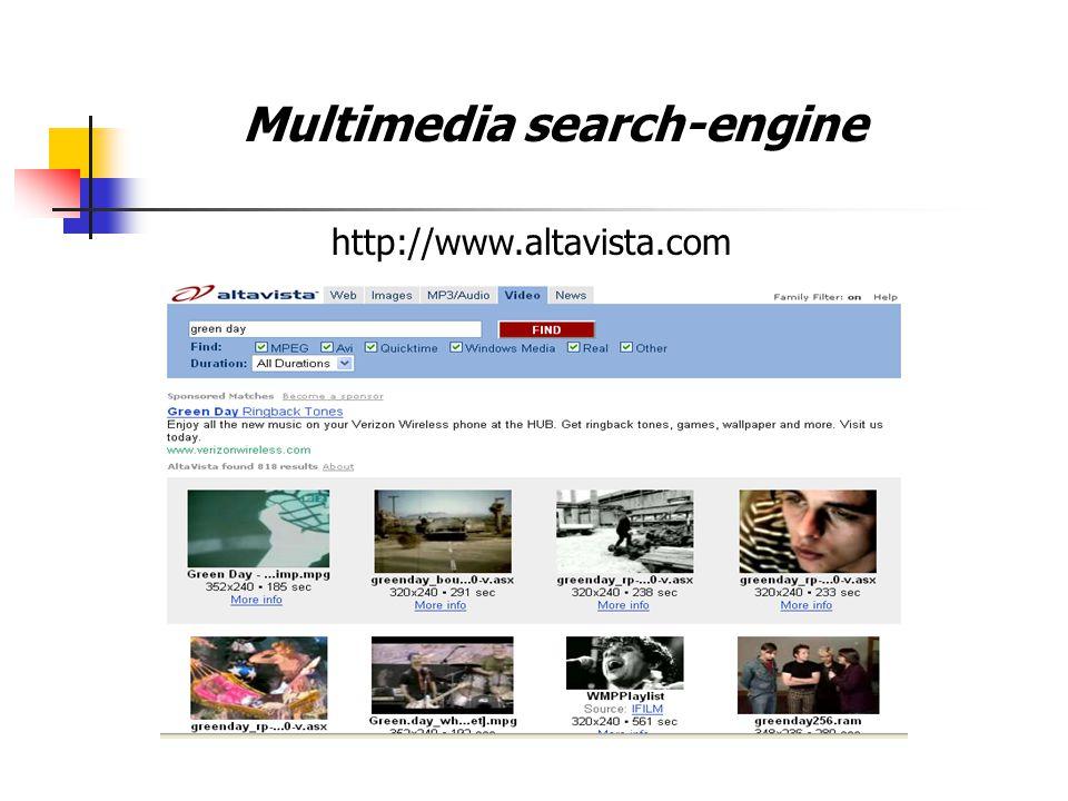 Multimedia search-engine Possibile Architettura