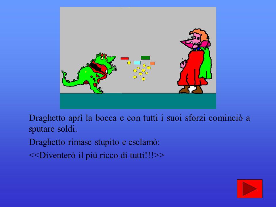 La strega Teodora agitò la bacchetta magica e in un lampo Draghetto cominciò a sputare bolle di sapone. Avete capito bene, proprio bolle di sapone!!!