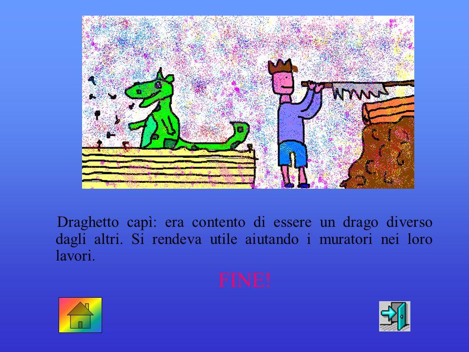 Draghetto era rimasto senza parole… > borbottò Teodora cacciando tre o quattro farfalle colorate che si erano posate sul suo lungo naso > Draghetto no