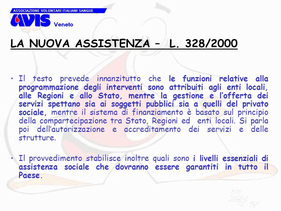 Il testo prevede innanzitutto che le funzioni relative alla programmazione degli interventi sono attribuiti agli enti locali, alle Regioni e allo Stat