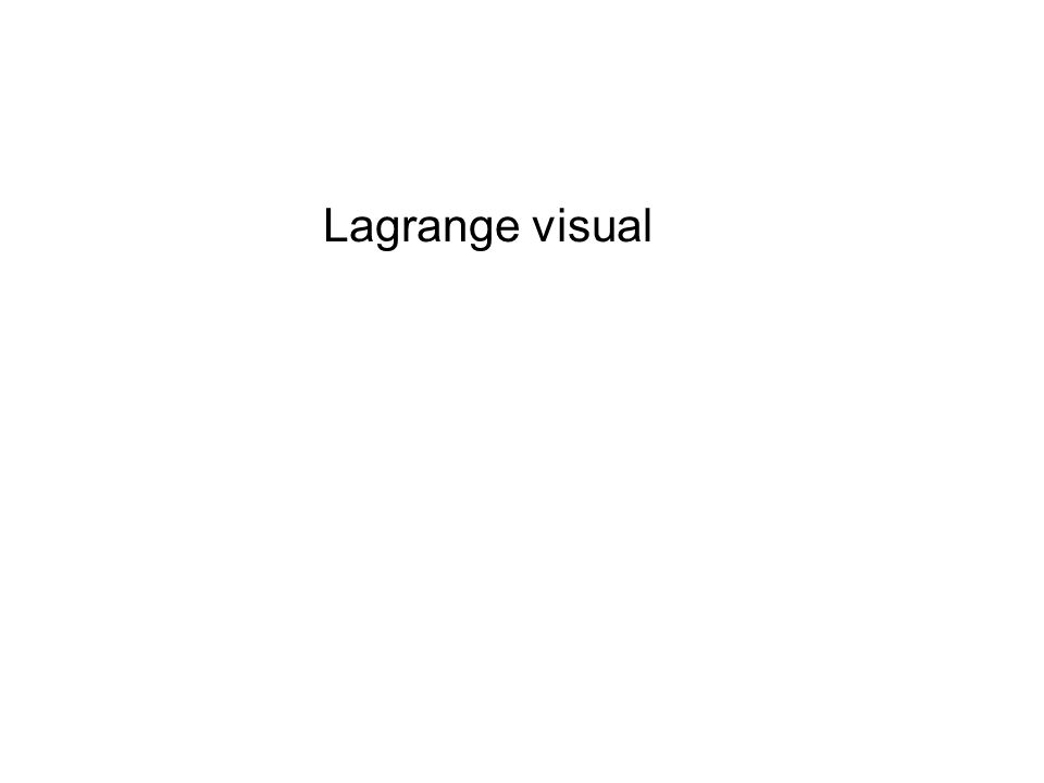 Lagrange visual
