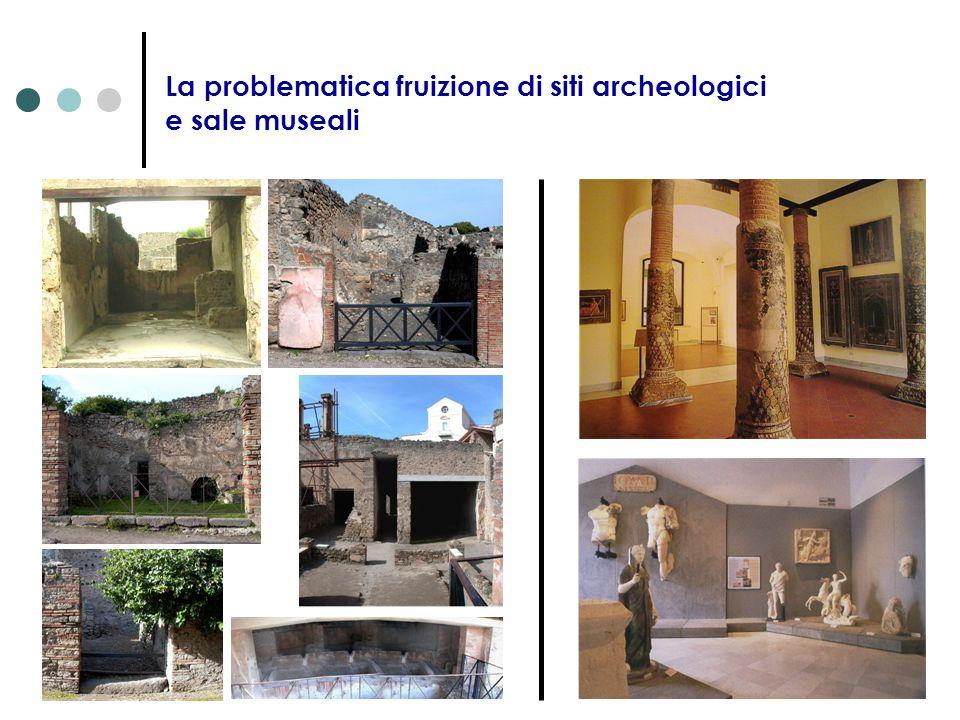 La problematica fruizione di siti archeologici e sale museali