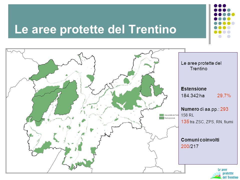 Le aree protette del Trentino Piano di comunicazione del sistema delle aree protette VERSO UN PIANO DI COMUNICAZIONE 1.grafica 2.media 3.