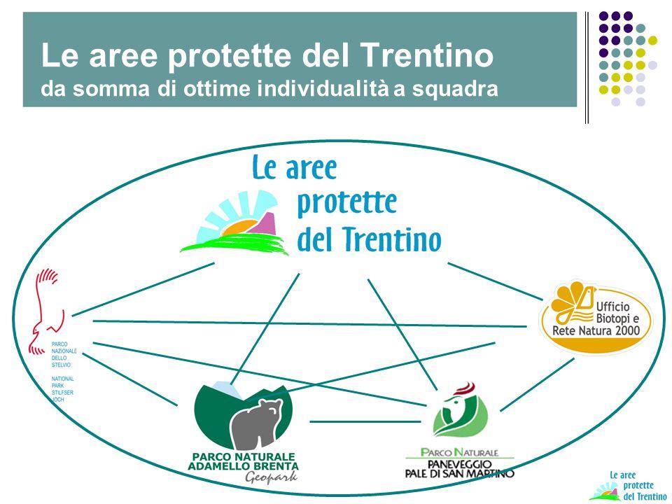 Il Trentino dei parchi A tutela della biodiversità A supporto del marketing territoriale e di un Trentino di Qualità Fare sistema per contare di più