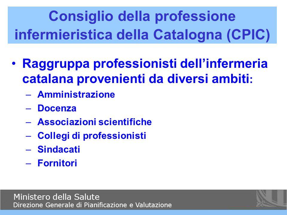 Raggruppa professionisti dell'infermeria catalana provenienti da diversi ambiti : – Amministrazione – Docenza – Associazioni scientifiche – Collegi di
