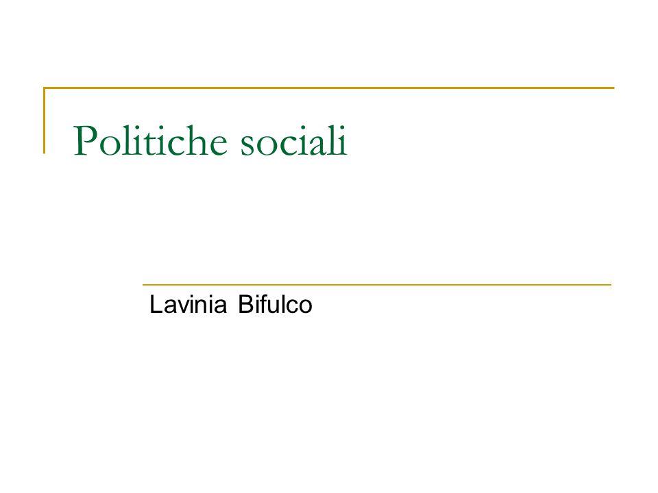 Amministrazioni pubbliche e welfare locale New Public Management Italia Amministrazioni pubbliche e politiche sociali: gerarchie, aziende, reti?