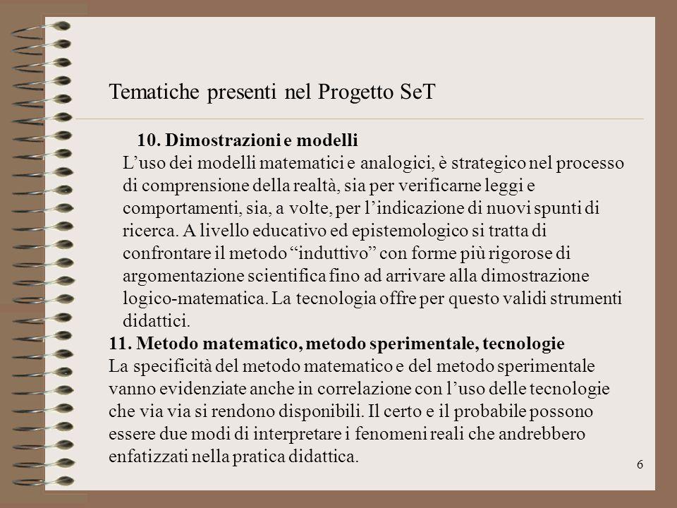 7 Progetti Set C.M.131 (2000) Fra gli altri….