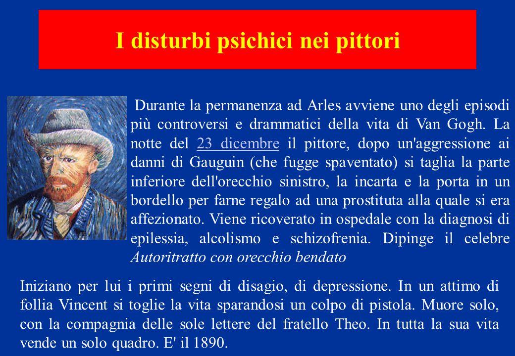 Durante la permanenza ad Arles avviene uno degli episodi più controversi e drammatici della vita di Van Gogh. La notte del 23 dicembre il pittore, dop
