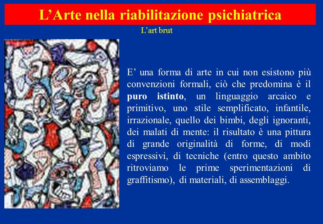 E' una forma di arte in cui non esistono più convenzioni formali, ciò che predomina è il puro istinto, un linguaggio arcaico e primitivo, uno stile se