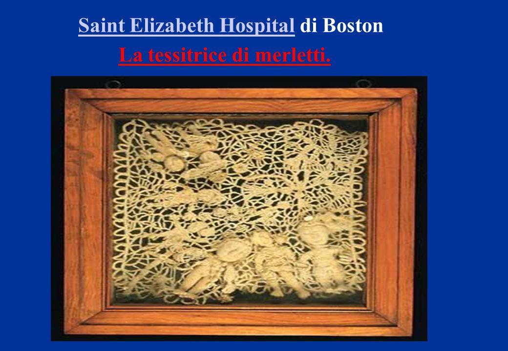 Saint Elizabeth HospitalSaint Elizabeth Hospital di Boston La tessitrice di merletti.
