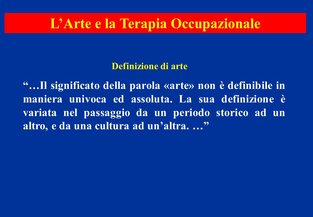 L'Arte nella riabilitazione psichiatrica Effetti dell'arte terapia sulla schizofrenia Un caso clinico Punteggio SAPS T0 2004 T1 2006