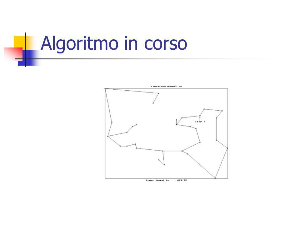 Algoritmo in corso