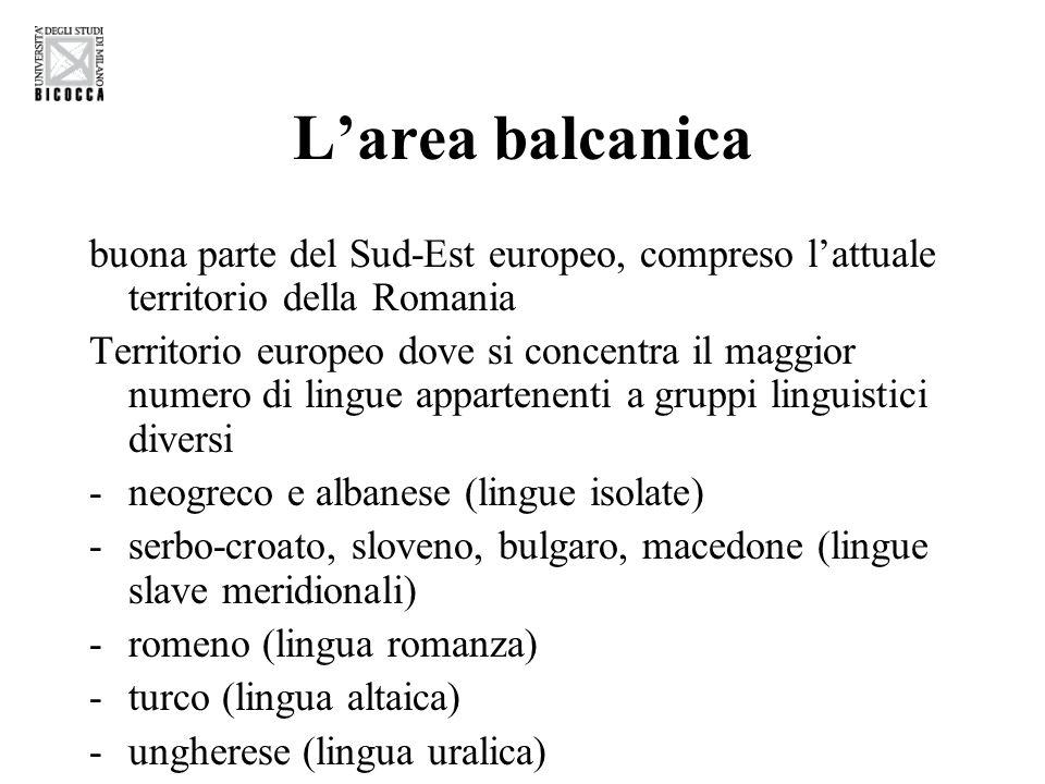 Lo Standard Average European Haspelmath 1998