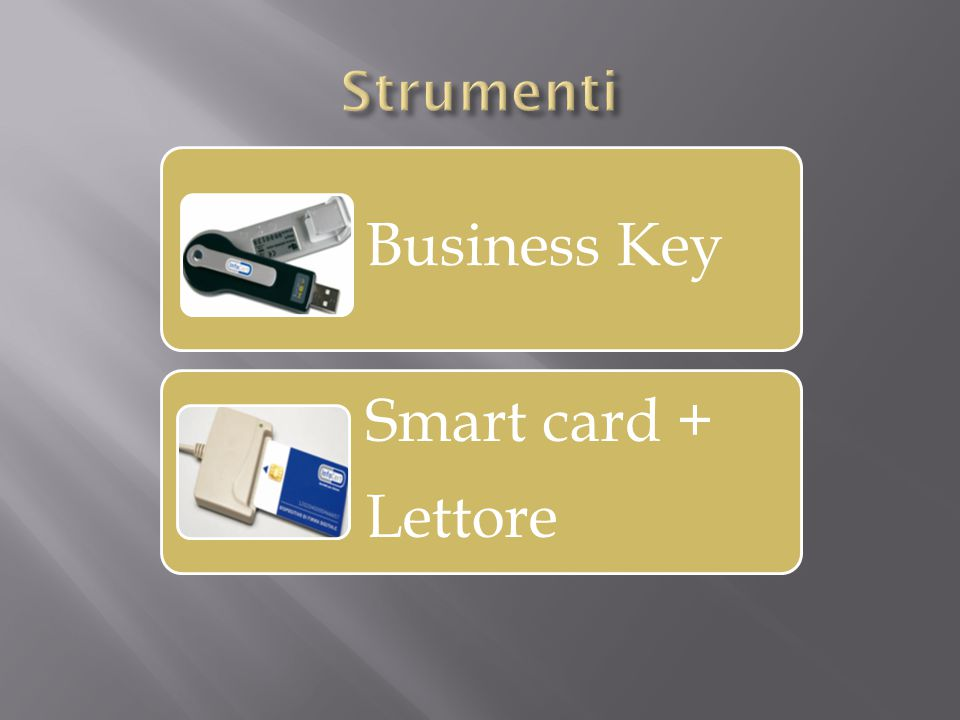 Business Key Smart card + Lettore