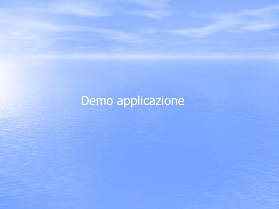 Demo applicazione