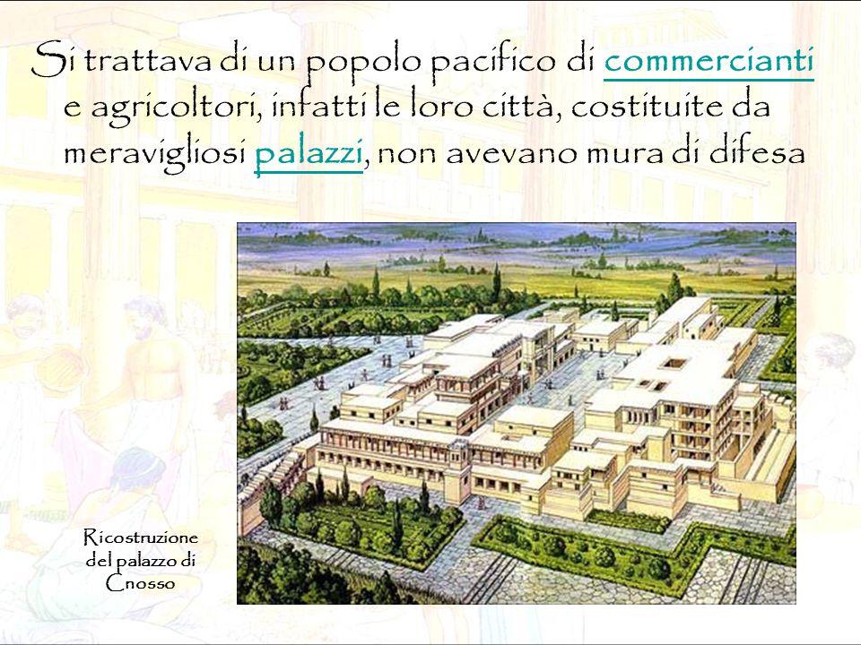 Si trattava di un popolo pacifico di commercianti e agricoltori, infatti le loro città, costituite da meravigliosi palazzi, non avevano mura di difesa