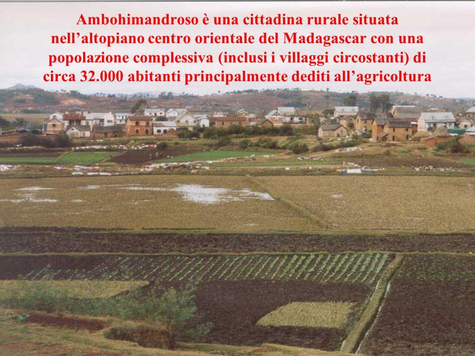 Ambohimandroso è una cittadina rurale situata nell'altopiano centro orientale del Madagascar con una popolazione complessiva (inclusi i villaggi circo