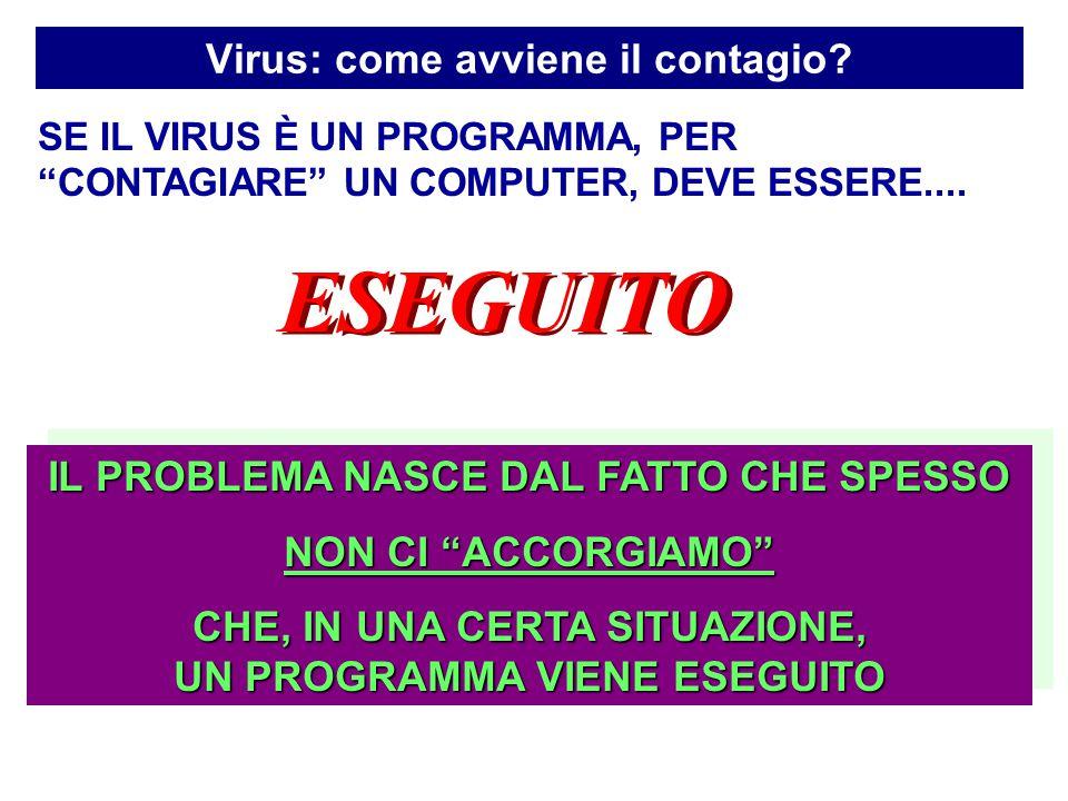 Virus: come avviene il contagio.
