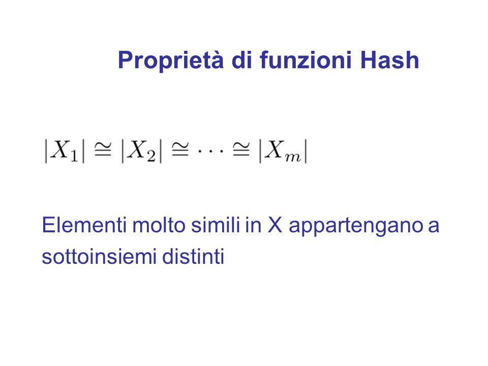 Funzioni Hash