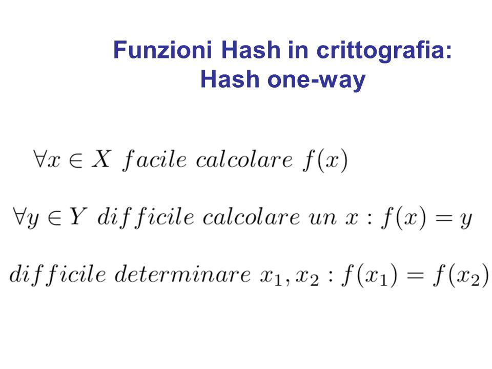 Proprietà di funzioni Hash Elementi molto simili in X appartengano a sottoinsiemi distinti