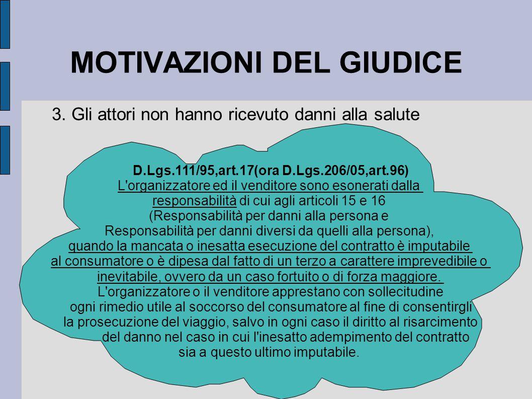 MOTIVAZIONI DEL GIUDICE 3.