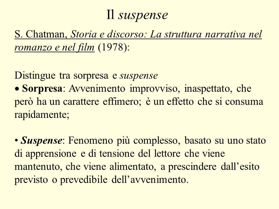 Il suspense S.