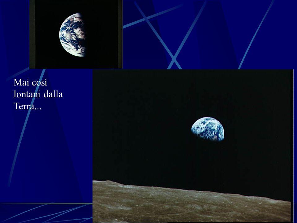 Mai così lontani dalla Terra...