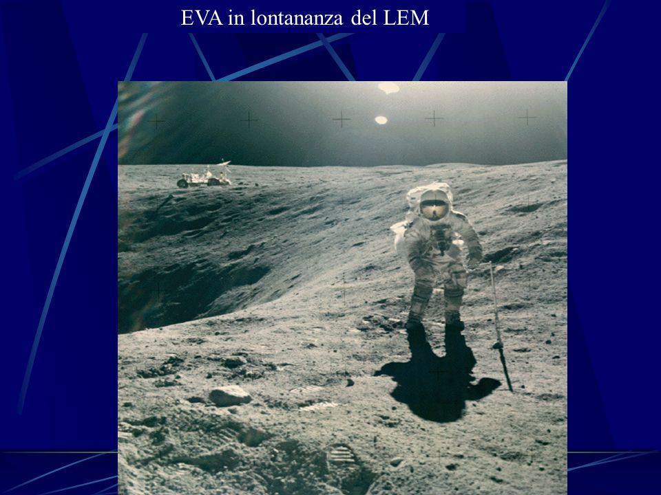 EVA in lontananza del LEM