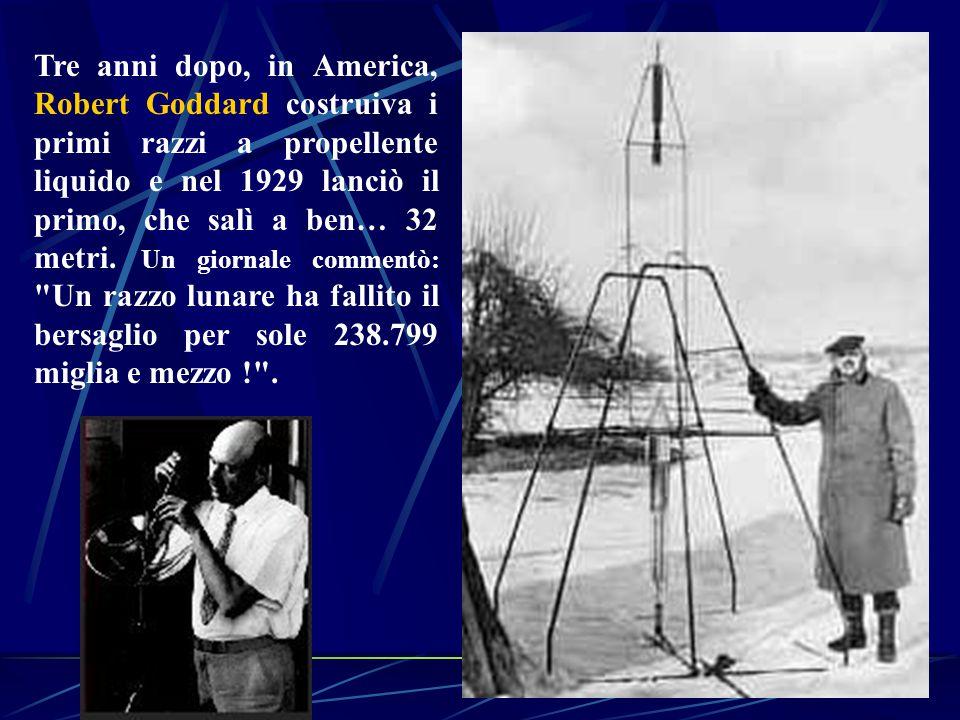 In generale negli anni a cavallo fra le due guerre si assistette ad un moltiplicarsi degli entusiasmi verso il volo spaziale.
