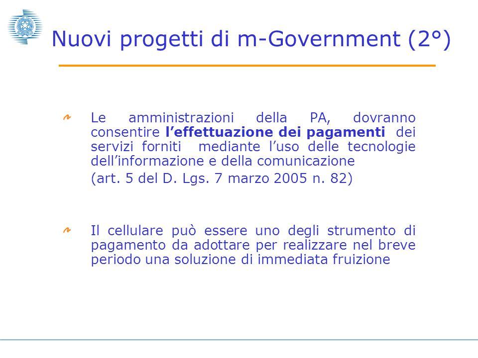 Le amministrazioni della PA, dovranno consentire l'effettuazione dei pagamenti dei servizi forniti mediante l'uso delle tecnologie dell'informazione e della comunicazione (art.