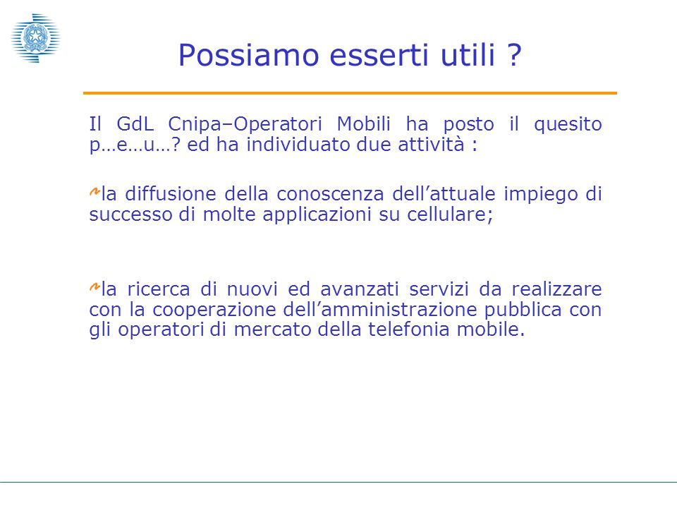 Pagamenti con cellulare CN RAN CN RAN CN RAN 48yyyy Citizen Data Base Application Server T-Gov E-Gov PAC PAL Sistema bancario